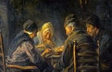 Potato-Eaters-Poor-Peasant-People-Eating-Dinner-Painting